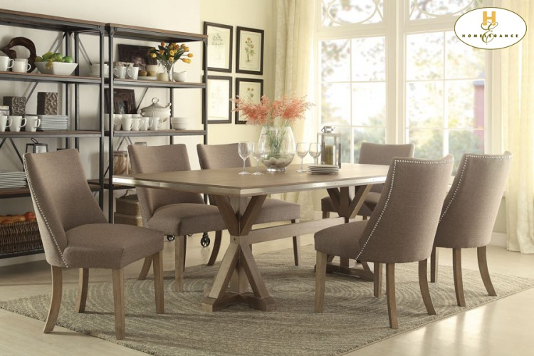& Barron\u0026#39;s Furniture and Appliance - Regular Height Dining And Servers