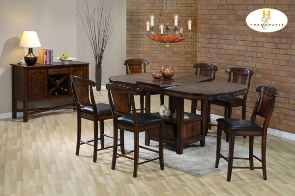 586 36 54SQUARE TABLE WITH LEATHORETTE CHAIRS