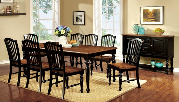 Barron 39 S Furniture And Appliance Regular Height Dining And Servers