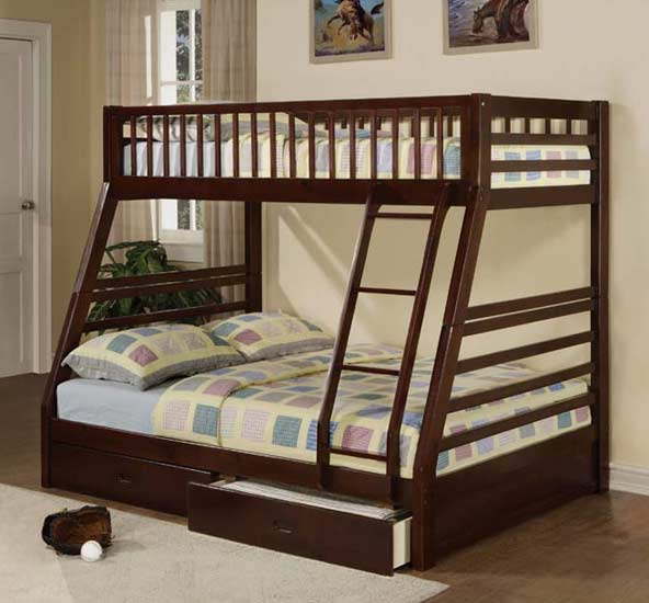 TWIN/TWIN BUNK BED WITH DRAWERS $299 - Barron's Furniture And Appliance - Kids Furniture