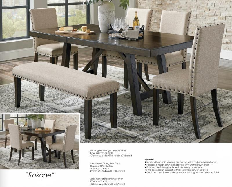 Barrons Furniture And Appliance Regular Height Dining And Servers