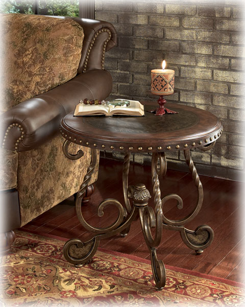 Barron's Furniture and Appliance - Occasional tables Столик Круглый