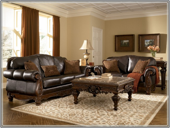 Dailey Collection 2PC SOFA LOVESEAT SET